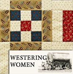 2016 Westering Women BOM from Barbara Brackman
