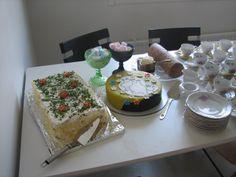 2nd birthday - cakes made by me, my mum & granny
