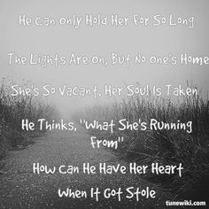 """-- #LyricArt for """"He Can Only Hold Her"""" by Amy Winehouse"""