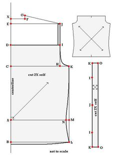 women's camisole sewing tutorial and how to take your measurements to make a custom sized one for you
