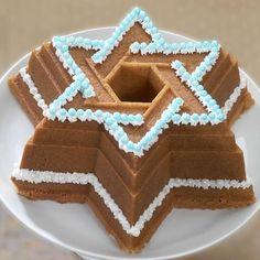 Nordic Ware Star Of David Bundt - Celebrating the Jewish community for their role in the creation of the iconic Bundt pan. #pleasanthillgrain