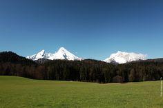 Watzmann Frühling Berchtesgadener-Land
