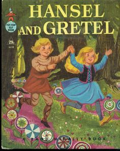 Vintage cover: HANSEL AND GRETEL  illustrated by Kay Lovelace Smith