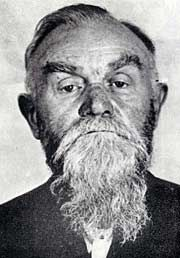 Bishop Gorazd, after two months in prison. During WW2, having provided refuge for the assassins of SS-Obergruppenfuhrer Reinhard Heydrich in the cathedral of Saints Cyril and Methodius in Prague, Gorazd took full responsibility for protecting the patriots after the Schutzstaffel found them in the crypt of the church. On June 27, 1942, he was arrested and tortured. On September 4, 1942, Bp. Gorazd, the Cathedral priests and lay officials were executed by firing squad at Kobylisy Shooting…