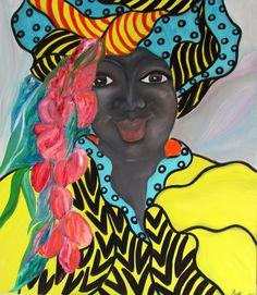 #figurative oil on canvas# By #Britt Boutros Ghali# Www.brittbg.com