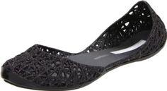 Amazon.com: Mini Melissa Campana Women's Zigzag Ballerina Flat: Melissa Shoes: Shoes