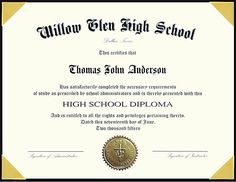 Free Printable High School Diploma Template Huge Collection Of High - Free high school diploma template with seal