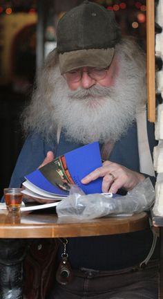 I Love Grandpas and Bears! Epic Beard, Man Character, Facial Hair, Bearded Men, Captain Hat, Hats, Blog, Beards, Men Beard