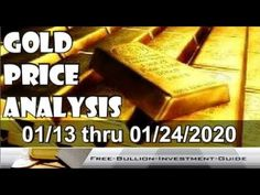 Gold Price Analysis (XAU/USD) - 01/13 thru 01/24/2020