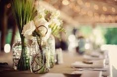 mason jar wedding - Google Search