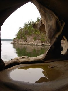 Explore Sandstone caves on Galiano Island (Bob Hayes) Canada Travel, Japan Travel, Places To Travel, Places To See, West Coast Canada, Best Island Vacation, Vacation Trips, Vacations, Vancouver Island