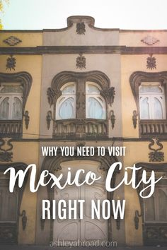 I'd wanted to visit Mexico City for years. As a Spanish major, I listened to my college professors wax poetic about Mexico City's incredible history, museums and sites for my entire college career. Most Americans think of Mexico City as a huge, polluted sprawl. Okay yes, it is huge and polluted. But it also has world-class museums, quaint, leafy neighborhoods and unbelievably good food.