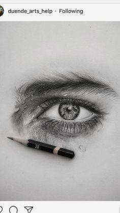 My goodness – Art Sketches Portrait Sketches, Art Drawings Sketches Simple, Pencil Art Drawings, Pencil Portrait, Eye Drawings, Drawing Eyes, Eye Drawing Tutorials, Art Tutorials, Drawing Techniques