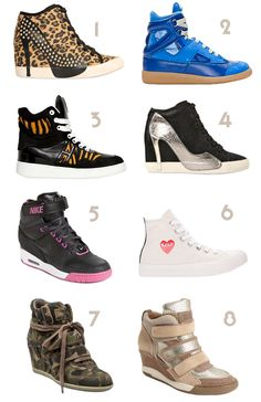 72c9de8ca3de Awesome Dream List of Hi top wedge sneaker eyecandy 1 to 8  WedgeSneakers   HiTops