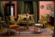 Second empire style room