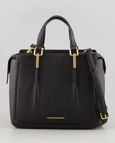 MARC by Marc Jacobs - Get a Grip Large Satchel Bag, Black