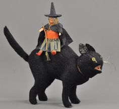 German Witch on Cat C/Container