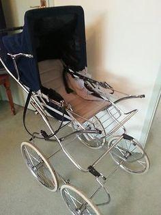 Vintage Stroller, Vintage Pram, Pram Stroller, Baby Strollers, Prams And Pushchairs, Baby Equipment, Dolls Prams, Baby Buggy, Baby Prams