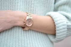 New in | Rose gold watch « Lovely by Lucy