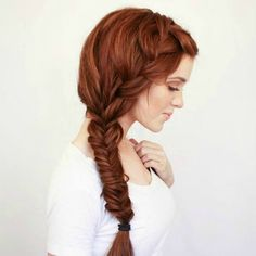 Wedding Hair: Bohemian Side Braid
