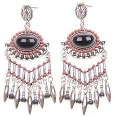 Boucles d'oreilles pampilles #bijoux #tendance #look #mode #earring #jewelry #femme #fashion #shopping www.milena-moda.com