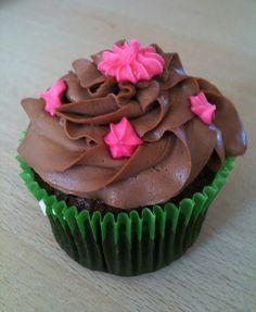 chokolade cupcake med mascarpone-frosting
