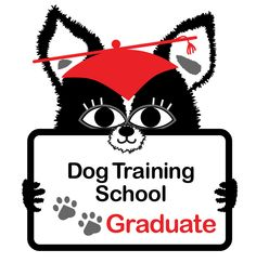 Dog School Graduate, that's me!  Yippee!  Graduate Dog's image is on items at http://cafepress.com/DesignClass as a way to help advocate for strong libraries.