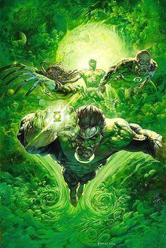 Legends of the DC Universe #38 - Green Lantern by Greg Staples
