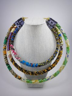 Tribal Maasai Inspired Necklace by Styledentity on Etsy, $50.00