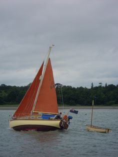Nick Ardley - awesome red sailboat