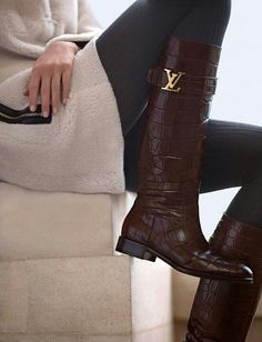 Louis Vuitton riding books...alligator