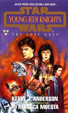 Young Jedi Knights: The Lost Ones December 1995 Written by Kevin J. Anderson and Rebecca Moesta Cover Art by Dave Dorman Jedi Ritter, Star Wars Books, Star Wars Episode Iv, Star Wars Comics, Jedi Knight, Daily Star, A New Hope, One Star, Dark Side