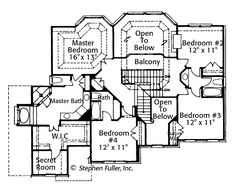 Secret passage house plans