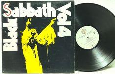 Black Sabbath Vol 4 BS 2602 Warner Bros White Label LP Vinyl Record Album stores.ebay.com/capcollectibles