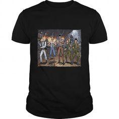 I Love 80s Horror Heroes by Al Rio read book Shirts & Tees