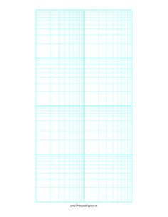 this 2 cycle by 4 cycle log log logarithmic graph paper presents a grid that is 2 cycles wide by 4 cycles tall scaled logarithmically along both the x and y