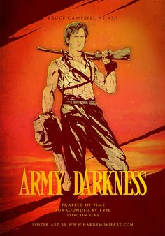 Home of the Alternative Movie Poster -AMP- - Army of Darkness Hotel by Harijs Grundmanis