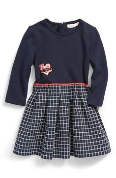 854af73fab5093 Billieblush  My Mum  Long Sleeve Dress (Baby Girls) available at  Nordstrom