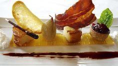 Propuesta culinaria de queso en el Westing Palace