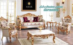 Harzamshah classic sofa set New collection hand Made with different color options. Furniture Sofa Set, Royal Furniture, Luxury Furniture, Living Room Furniture, Furniture Design, Sofa Set Designs, Sofa Design, Turkish Furniture, Home Bedroom Design