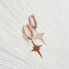 A personal favorite from my Etsy shop https://www.etsy.com/listing/292248851/earrings-pole-star-earrings-solid-silver