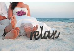 Relax by the beach wedding ideas