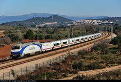 RailPictures.Net Photo: 252.070 Renfe Siemens/Krauss Maffei Eurosprinter at Freginals (Tarragona), Spain by Lucas Garcia Deiros