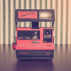 Cámara Polaroid Cool Cam Rehabilitada por Alan Prodanov A la venta en My Vintage Shoot www.myvintageshoot.com