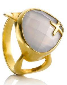 Zara Simon Raindrop Ring by Monsoon £160.00 | Brand For You