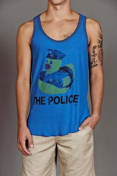 Dirtee Hollywood Duck The Police Tank Top @ Jack Threads