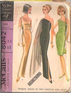 1960's - I have no idea when I would wear something like this but I love it!