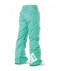 DC Ace Snowboard Pants Arcadia Green - Womens 2013  really love my old DC pants
