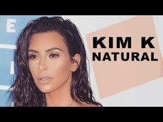 Natural Glowing Everyday Makeup | Kim Kardashian 2017 No-Makeup Makeup - YouTube