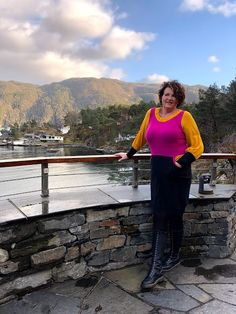 My Good friend Torunn who lives in this beautiful place! 🤩 She's wearing one of my latest wool refashion dresses which are made of Refashion Dress, Wool Sweaters, Grey Sweater, Dress Making, My Best Friend, I Am Awesome, Beautiful Places, Passion, Models